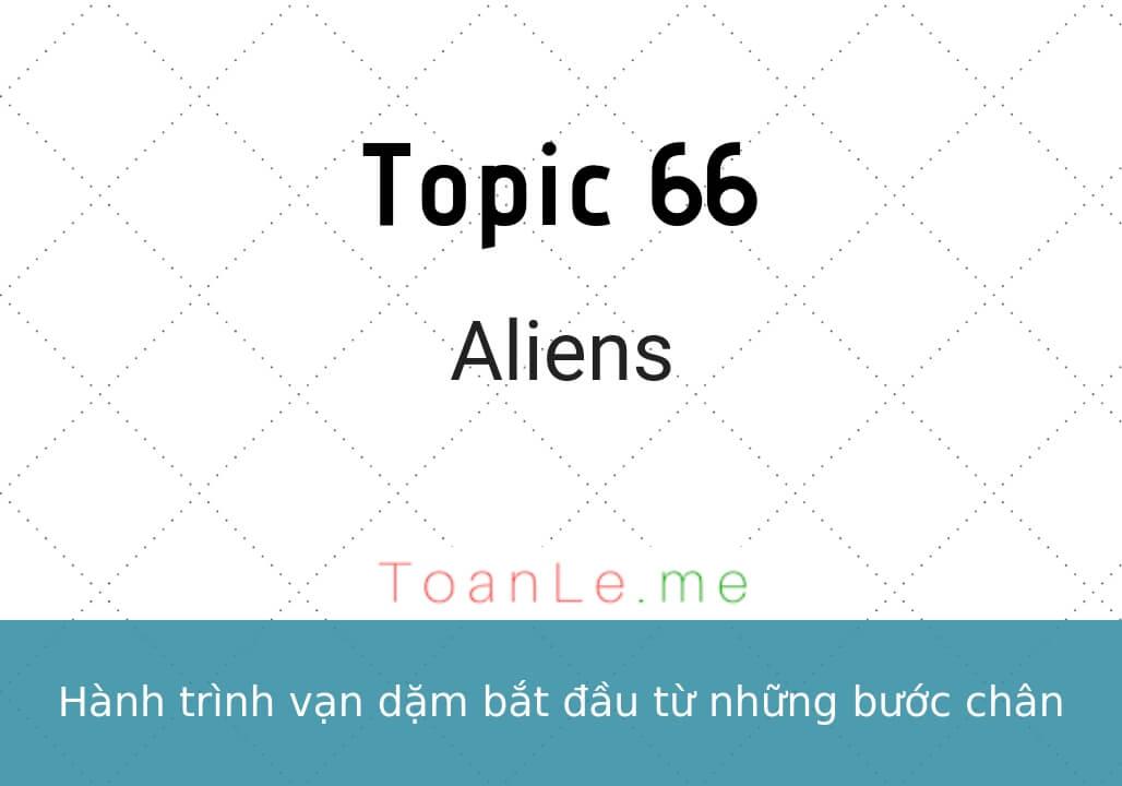toan le luca topic 66 Aliens