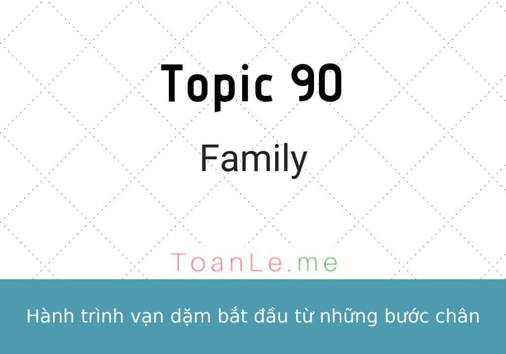 toan le luca Topic 90 Family