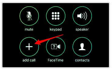 Nút Add Call để thêm số ghi âm