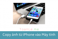 copy anh tu iphone sang may tinh laptop pc macbook
