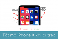 Cách tắt và mở nguồn khi iPhone bị treo hoặc đơ