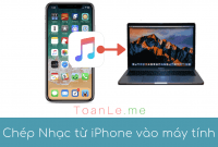toan le luca cach chep nhac tu iphone sang may tinh pc va may tinh mac