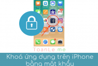 khoa ung dung iphone bang mat khau
