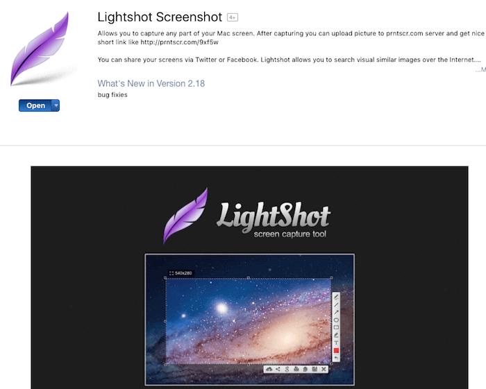 ung dung 2 Lightshot
