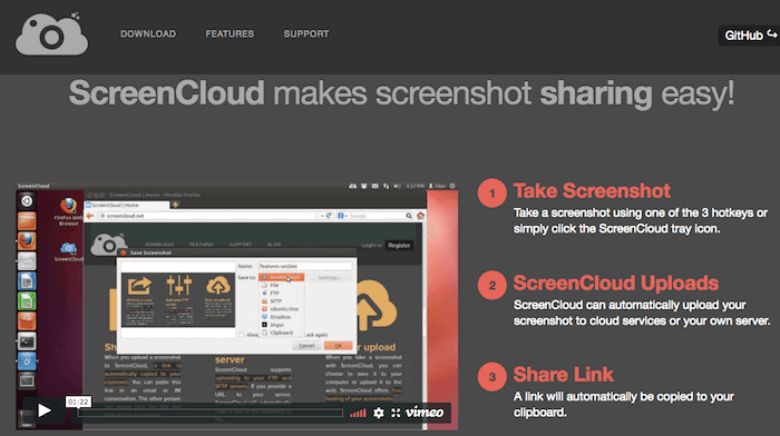 ung dung 5 ScreenCloud