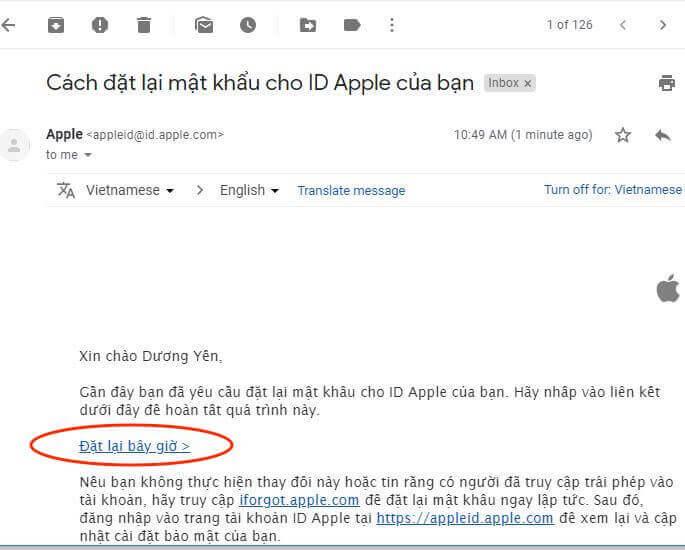 hinh 09 mo email de nhan huong dan lay lai mat khau