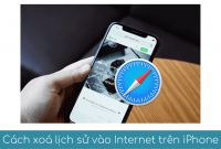 cach xoa lich su truy cap internet tren iphone trinh duyet website safari