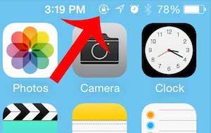 Hình: Xem chức năng khóa màn hình trên iPhone 8 trở về trước