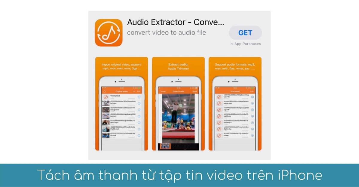 tach am thanh tu tap tin video tren iphone