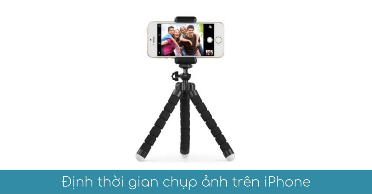 dinh thoi gian chup anh tren iphone