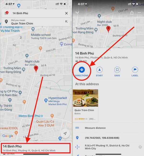 07 mo chuc nang dinh tuyen duong di tren google maps