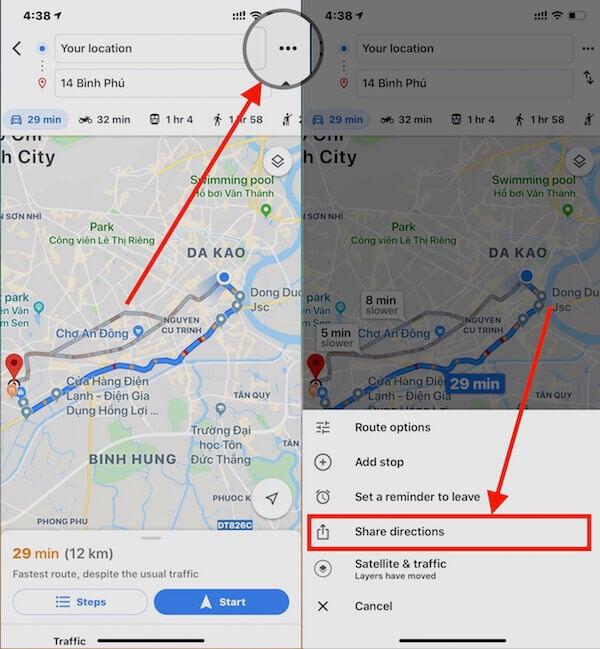 08 chia se duong di google maps