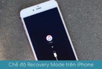 Che do Recovery Mode tren iPhone la gi
