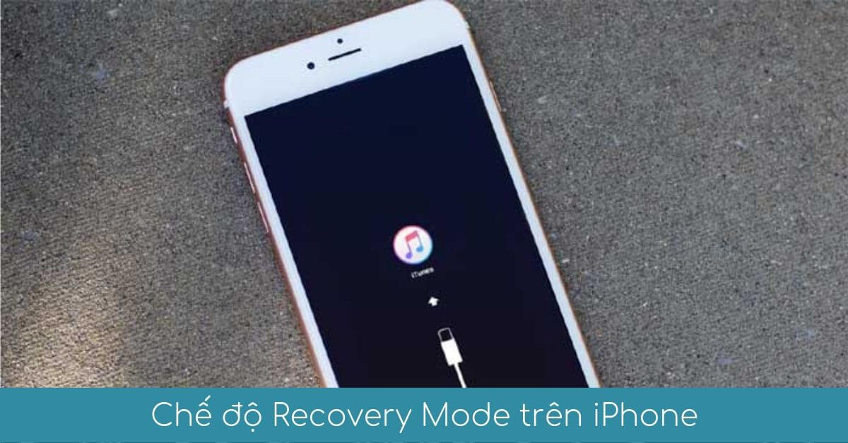 Che do Recovery Mode tren iPhone la gi