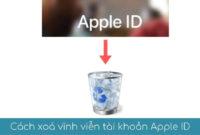 cach hoa vinh vien tai khoan apple ID