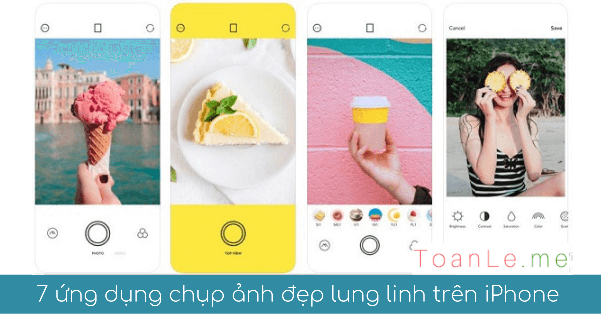 7 ung dung chup anh sua anh dep lung linh tren iphone