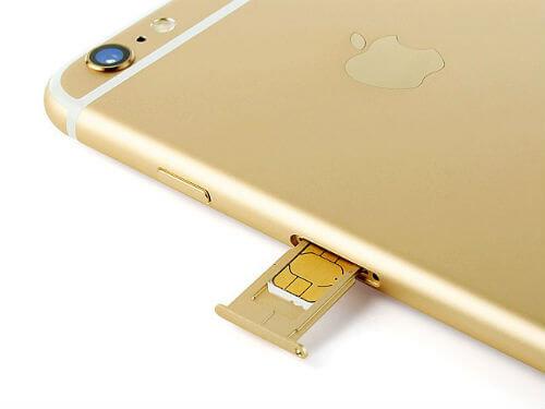 the SIM iphone
