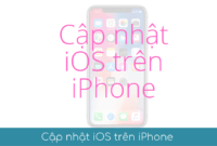 cap nhat ios tren iphone