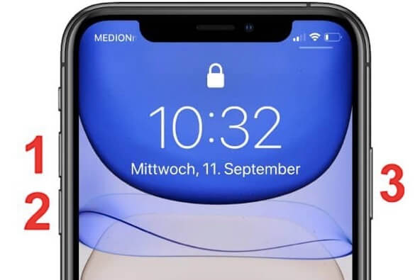 cach reset iphone 11