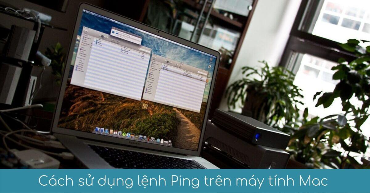 cach su dung lenh ping tren may tinh macbook