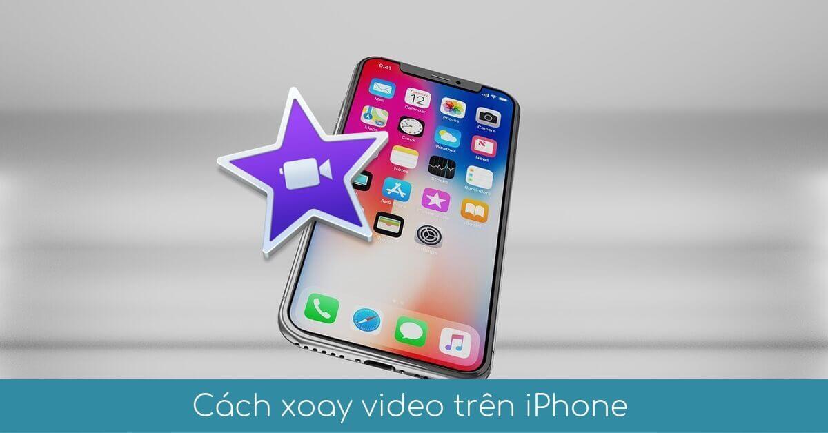 cach xoay video tren iphone imovie