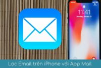 loc email tren iphone voi app mail