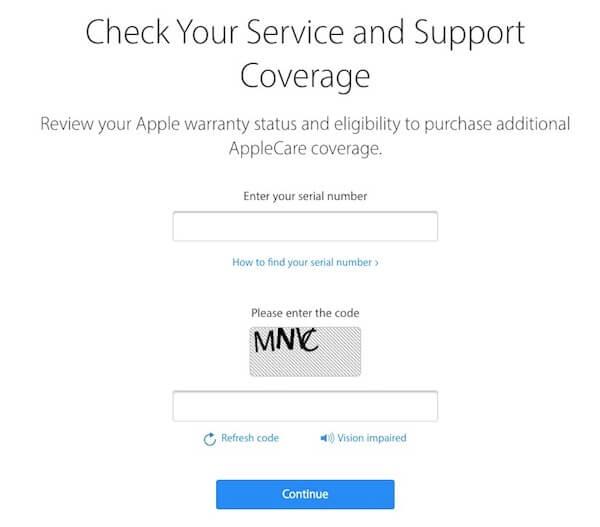 01 check iphone bang so imei tren website apple
