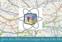 tha ghim tren google maps tren iphone