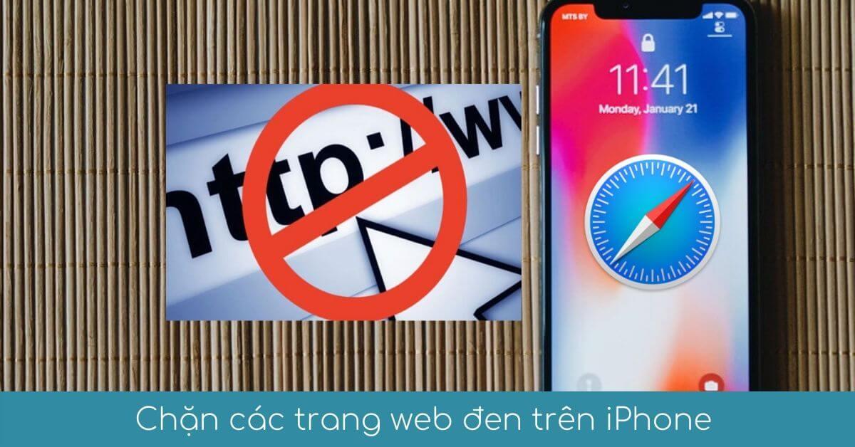 00 ngan chan website den tren iphone