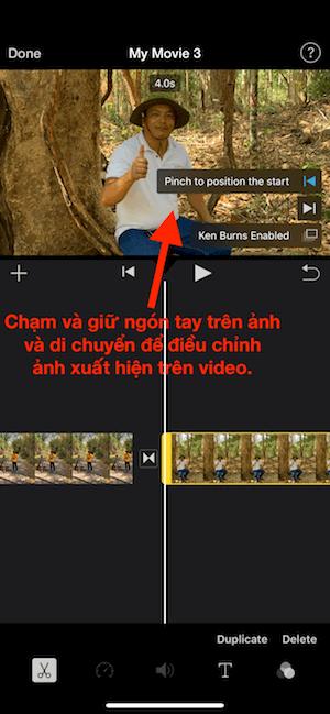 4b chon dieu chinh anh cho dep trong video