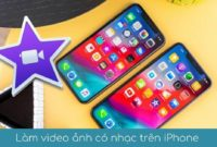lam video slideshow anh co nhac tren iphone